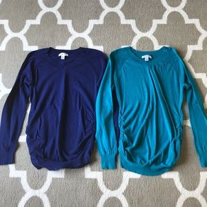 Motherhood Maternity V-Neck Sweaters